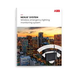NEXUS® SYSTEM Wireless emergency lighting monitoring system