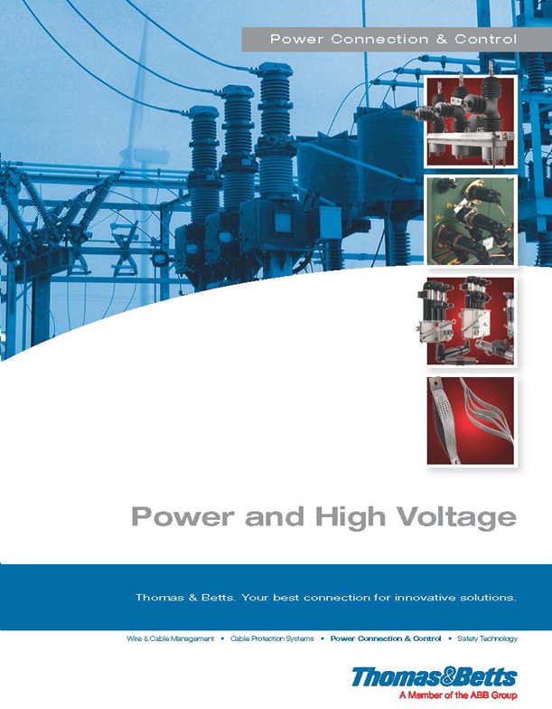 High Voltage Thomas : Thomas betts canada